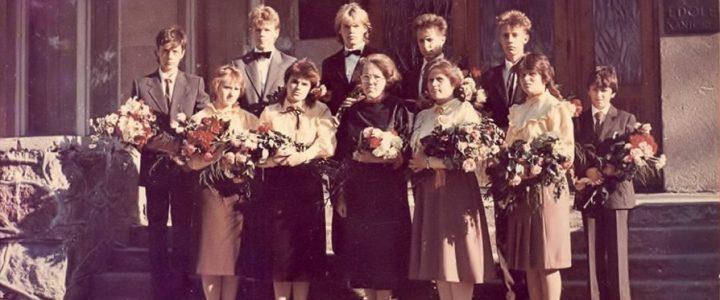 1988. gada absolventi