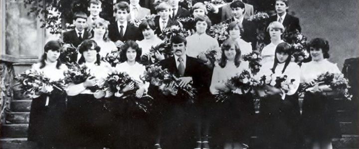 1985. gada absolventi