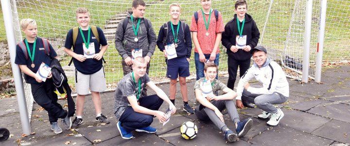 Kuldīgas novada skolēnu sacensības futbolā