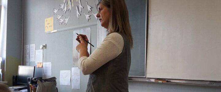 """Projekta """"Skolas soma'' pasākums Ēdoles pamatskolā 29. septembrī kopā ar stāstnieci no Ventspils"""