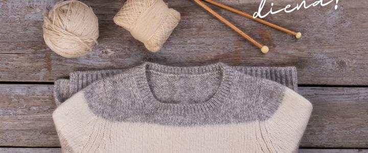 Silto džemperu diena